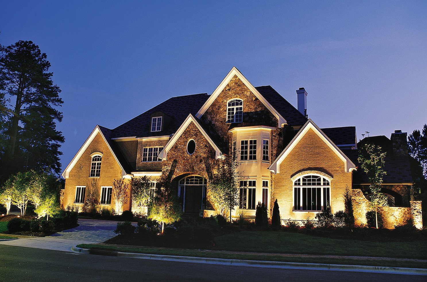 outdoor landscape lighting installer howard county